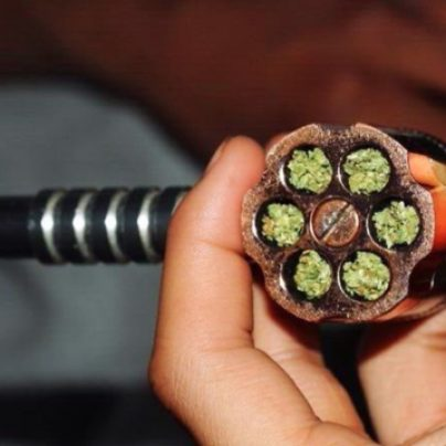 Six Shooter Smoking Pipe