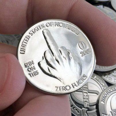 Zero F's Given Coin
